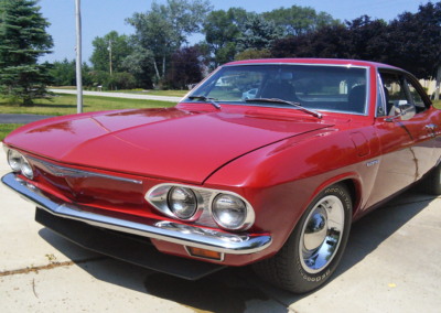 Larry's 1965 Chevrolet Corsa with Crown Corvette V-8 conversion